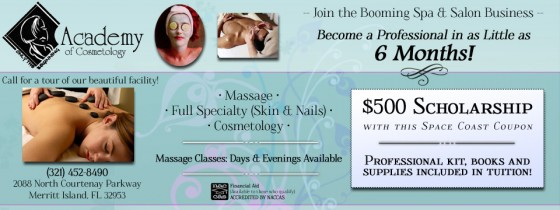 Academy of Cosmetology Coupon