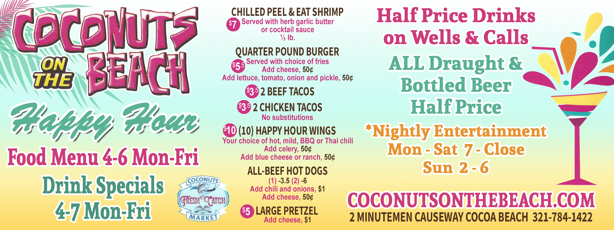 Cocoa beach coupons