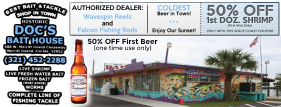 Space Coast Coupons Online Coupons Bait And Tackle
