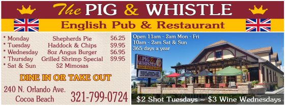 Pig & Whistle coupon July 2017