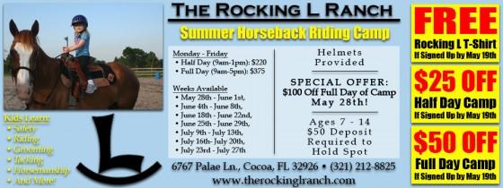 Rocking L Ranch Coupon