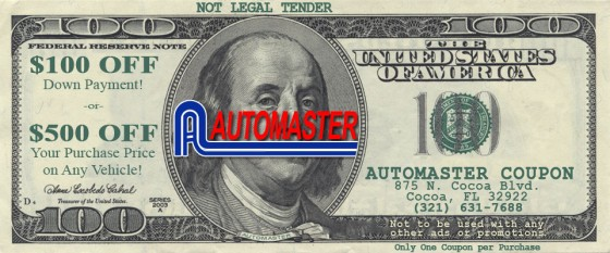 Automaster Coupon