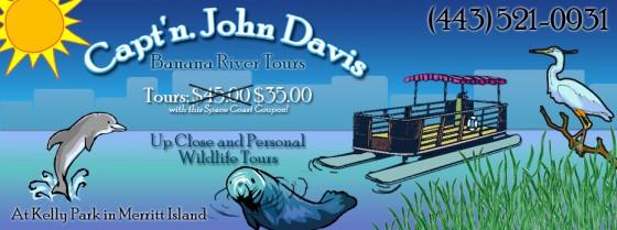 Capt'n. John Davis Banana River Boat Tours Coupon