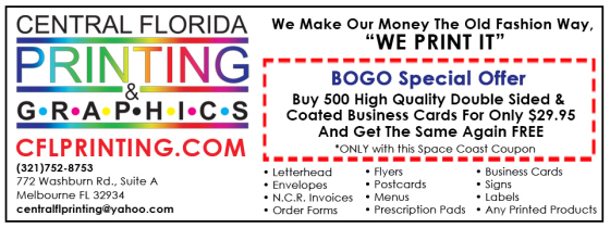 Bogo Business Cards Central Florida Printing