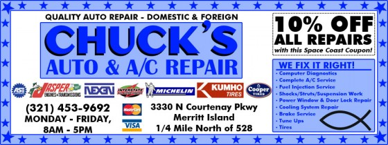 Chuck's Auto & A/C Repair