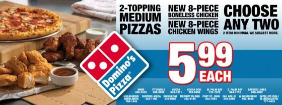 Domino's Pizza June Special
