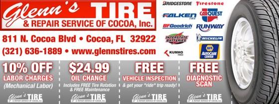 Glenn's Tire & Repair Service of Cocoa