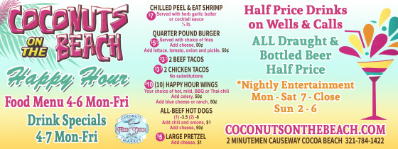 Restaurant coupons cocoa beach florida