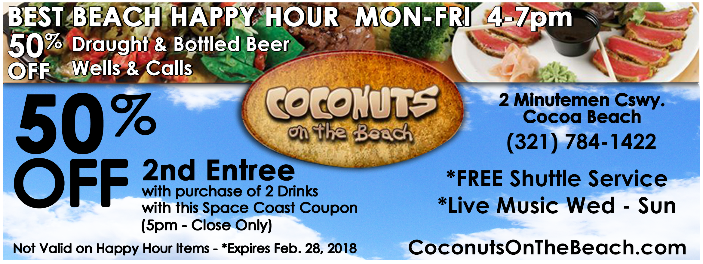 Space Coast Coupons Inc Restaurant Coupons Cape Canaveral